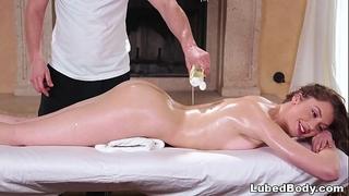 Erotic massage with elena koshka
