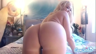Summer brielle large bra buddies large arse golden-haired double snatch penetration.