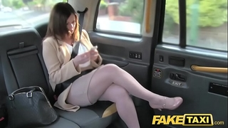 Fake taxi office romance revenge with london cabby