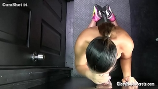 Asian mouthfuls of cum from strangers