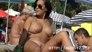 This nudist honeys in nature's garb at the beach compilation is actually arousing to see