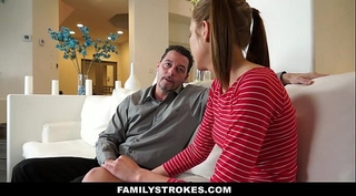 Familystrokes - step-daughter learns to be a nice white wife