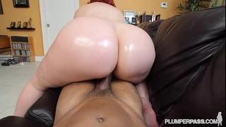 Big ass redhead pawg milf marcy diamond discharges pov