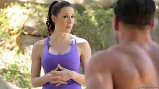 Wife, the recent hubby and the old one - chanel preston