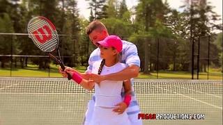 Baise torride au tennis