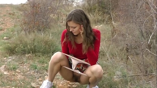 Stunning teenies love pissing in front of camera