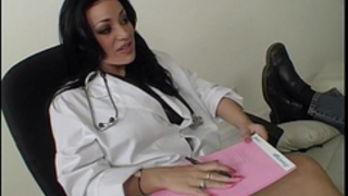 Busty nurse acquires titty screwed!