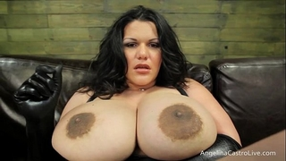Big titted angelina castro dongs domination!