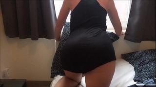 Maid upskirt no pants two