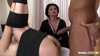 Japanese sort anal 3some with geishas ivana sugar and alice
