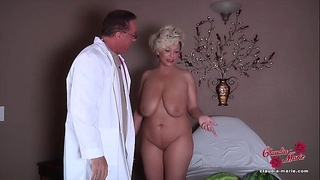 Claudia marie receives her fake pantoons put back in!