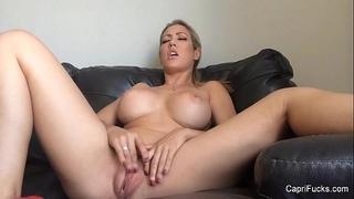 Capri cavanni masturbates
