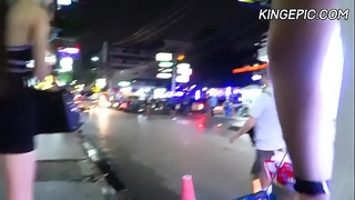 Russian hooker in bangkok red light district [hidden camera]