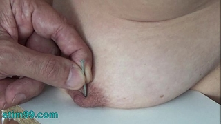 Extreme needle torture s&m and electrosex. nails and needles tortured