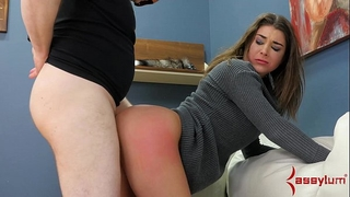 Hot hottie turned into dog for brutal anal hatefuck