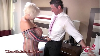 Huge fake breasts claudia marie anal drilled in mexico