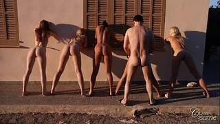 Most marvelous women in a sexy group fuck