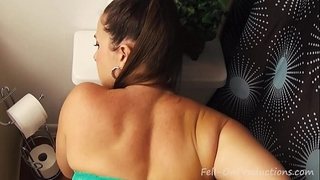 Taboo passions: sexy stepdaughter with large gazoo learns to fuck pov