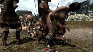 Skyrim beauties in trouble