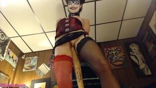 Adalynnx - harley quinn cosplay enjoyment!!!