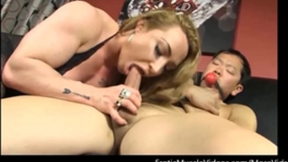 Eroticmusclevideos brandimaes muscle thrall part 1