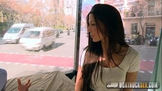 Amazing alexa tomas makes cash stripping off her raiment in public