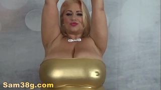 Gold.titty.tease-mp4
