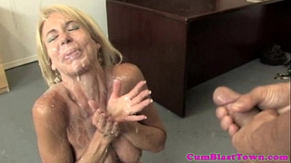 Milf aged with bigtits tugs previous to drenched