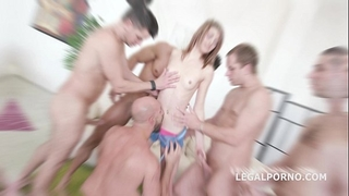 5on1 welcome in porn tera link with 1st anal /dp/gapes /multiple facual cumshots