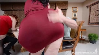 two bbw pawgs take on some biggest weenies