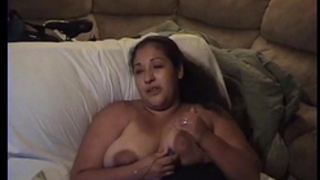 Busty lalin girl milf plays with large scoops and egg vibrator.mov
