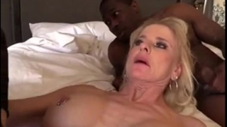 Blonde aged gilf dark shlong group sex