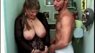 Kinky aged slut