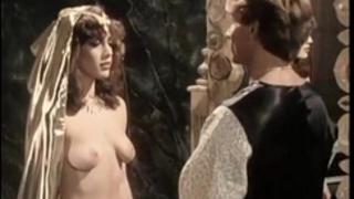 Kristara barrington, susan berlin, bunny bleu in vintage sex movie scene