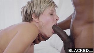 Blacked white wife copulates 2 bbcs