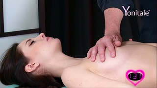 Yonitale: 2 marvelous nubiles katya clover and sade mare have massage and orgasms.