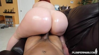 Big ass redhead pawg milf marcy diamond discharges pov