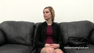 Naive waitress porn tryout
