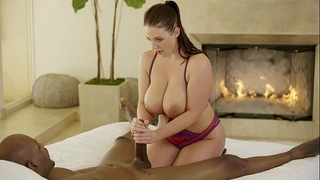 Blacked super model natasha voya 1st bbc