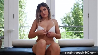 Asian horny white wife can't live without her 1st dark wang