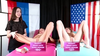 Orgasm world championship: katya clover vs britney y
