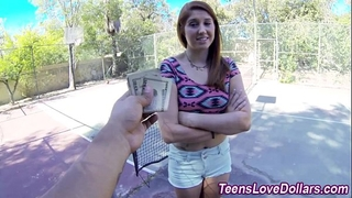 Real legal age teenager cream drenched