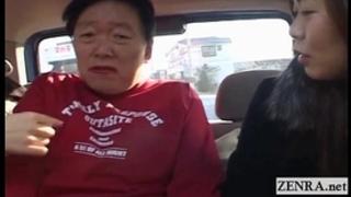 Subtitled japanese public femdom cross dressing dude