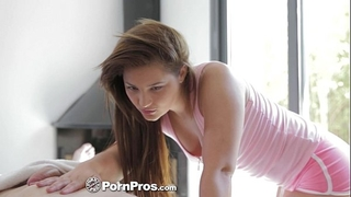 Hd pornpros - euro slutty wife lana receives oiled up