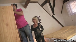 He is enticed by lustful mother-in-law