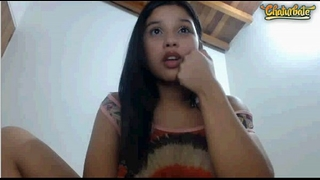 Cute latin babe legal age teenager with biggest love muffins masturbating 5
