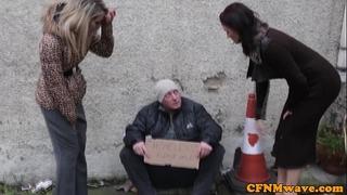 Femdom brooklyn blue bj for homeless guy
