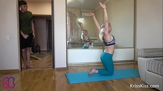 Yoga anal hard fuck legal age teenager