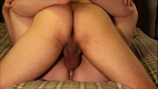 Four hardcore dilettante creampie bonks & eight intensive orgasms