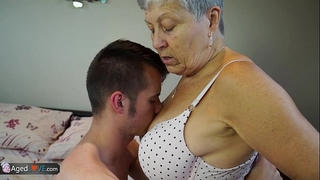 Agedlove granny savana screwed with truly hard stick